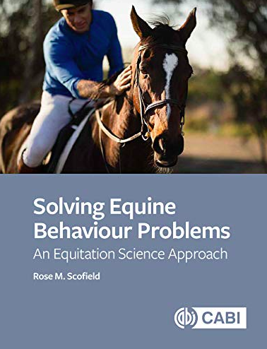 Solving Equine Behaviour Problems is out 22nd September 2020,